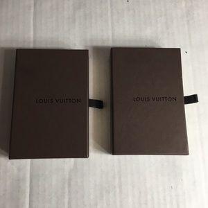 Authentic Louis Vuitton Empty  Gift Boxes